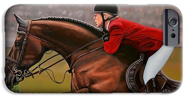 Horse iPhone 6s Case - Meredith Michaels Beerbaum by Paul Meijering