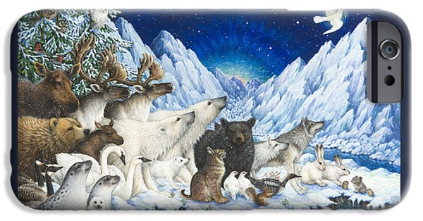 Polar Bear iPhone 6s Case - Message Of Peace by Lynn Bywaters
