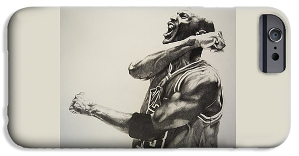 Chicago iPhone 6s Case - Michael Jordan by Jake Stapleton