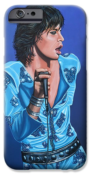 Musicians iPhone 6s Case - Mick Jagger by Paul Meijering