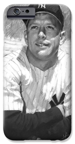 Mickey Mantle IPhone 6s Case by Viola El