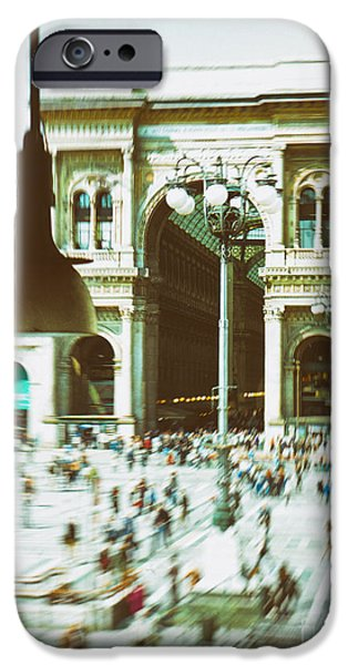 IPhone 6s Case featuring the photograph Milan Gallery by Silvia Ganora