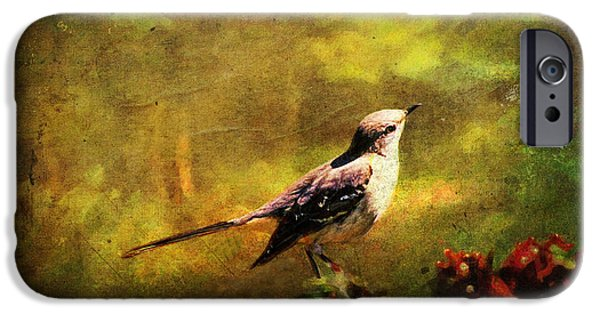 Mockingbird iPhone 6s Case - Mockingbird Have You Heard... by Lianne Schneider