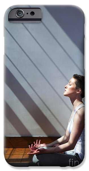 Yoga iPhone 6s Case - Moment Of Zen by Diane Diederich