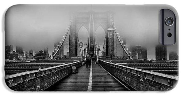 Brooklyn Bridge iPhone 6s Case - November Rain by Az Jackson