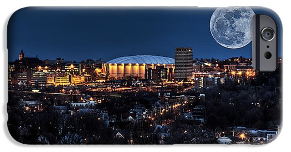 Moon Over The Carrier Dome IPhone 6s Case by Everet Regal
