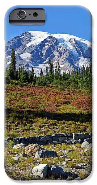 Mount Rainier IPhone 6s Case by Anthony Baatz