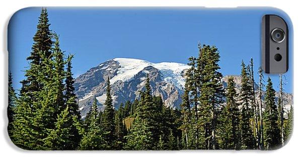 Mount Rainier Evergreens IPhone 6s Case by Anthony Baatz