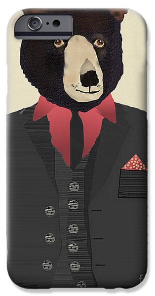 Mr Grizzly IPhone 6s Case
