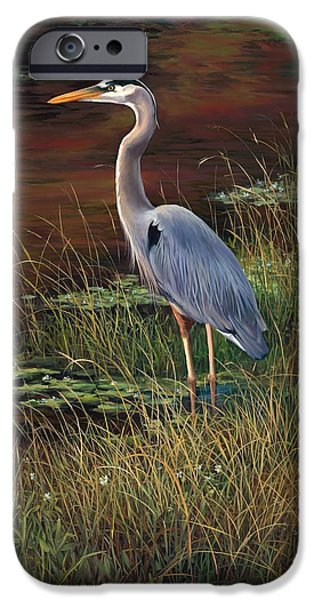 Mrs Blue Heron IPhone 6s Case by Laurie Hein