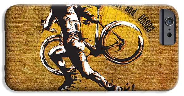 Bicycle iPhone 6s Case - Mud Sweat And Gears by Sassan Filsoof