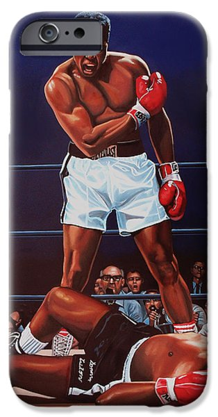 Muhammad Ali Versus Sonny Liston IPhone 6s Case