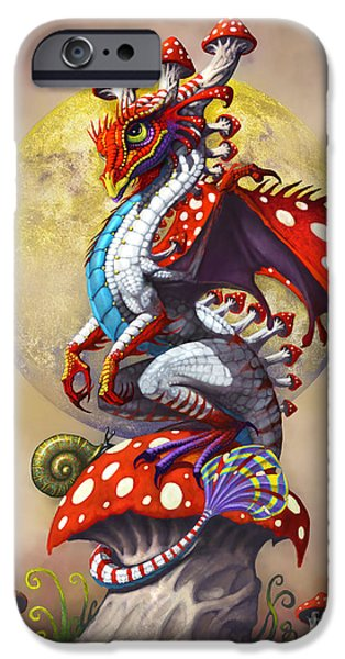 Mushroom Dragon IPhone 6s Case by Stanley Morrison