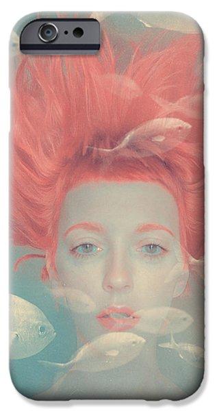 Surrealism iPhone 6s Case - My Imaginary Fishes by Anka Zhuravleva
