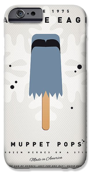 Eagle iPhone 6s Case - My Muppet Ice Pop - Sam The Eagle by Chungkong Art