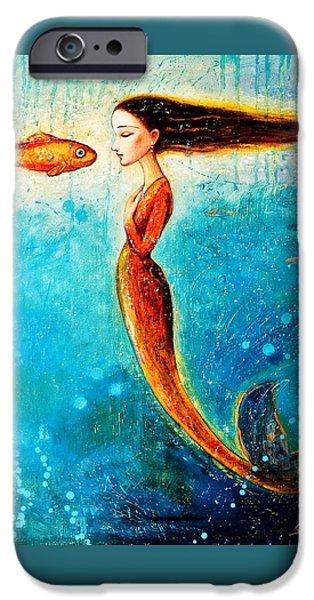 Mermaid iPhone 6s Case - Mystic Mermaid II by Shijun Munns