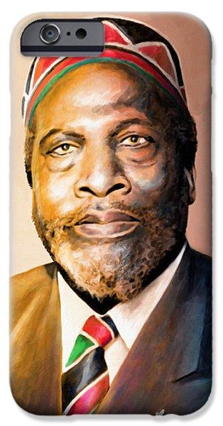 Mzee Jomo Kenyatta IPhone 6s Case by Anthony Mwangi