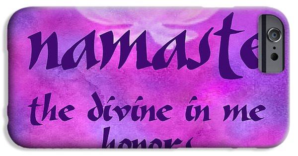 Yoga iPhone 6s Case - Namaste by Ginny Gaura