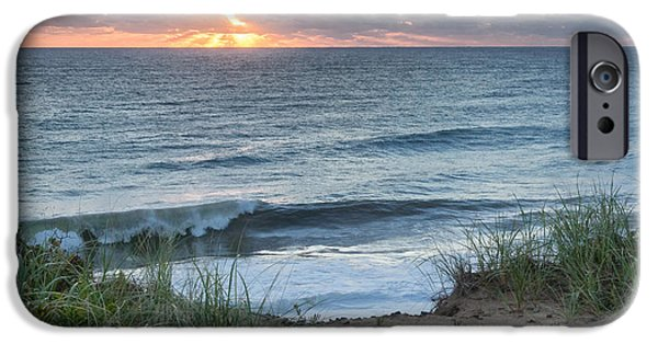 Nauset Light Beach Sunrise Square IPhone 6s Case by Bill Wakeley