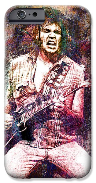 Neil Young Original Painting Print IPhone 6s Case