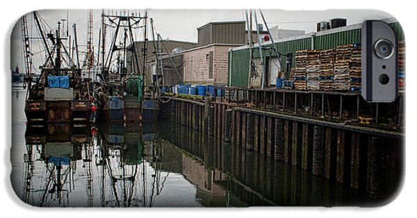 New Bedford Waterfront No. 4 IPhone Case by David Gordon