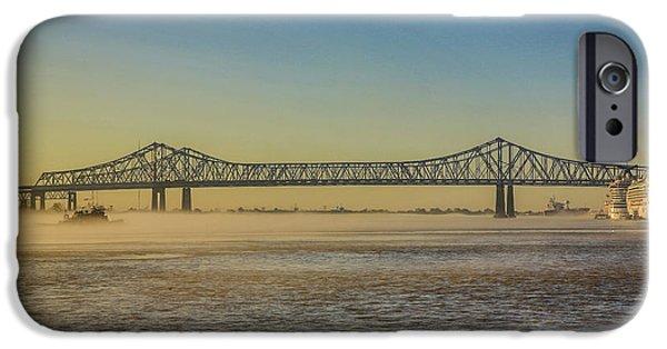 Cruise Ship iPhone 6s Case - New Orleans, Louisiana by Jolly Sienda