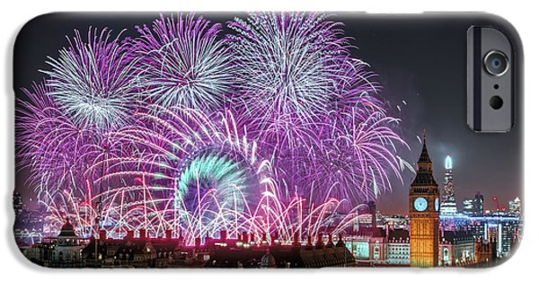 New Year Fireworks IPhone 6s Case by Stewart Marsden