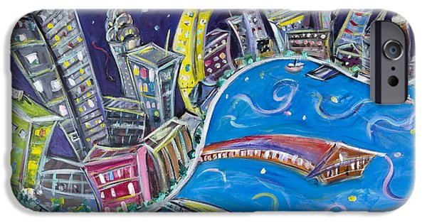 New York City Nights IPhone 6s Case by Jason Gluskin