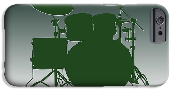 New York Jets Drum Set IPhone 6s Case by Joe Hamilton
