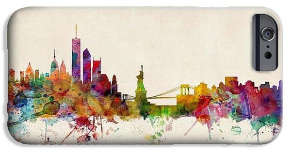 New York Skyline IPhone 6s Case