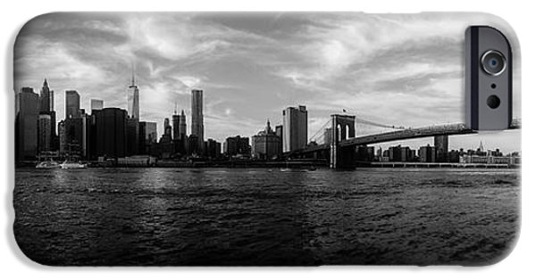 Statue Of Liberty iPhone 6s Case - New York Skyline by Nicklas Gustafsson