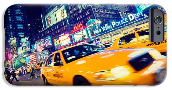 New York - Times Square IPhone 6s Case by Alexander Voss