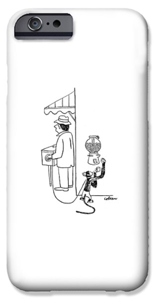 New Yorker August 26th, 1944 IPhone 6s Case by Sam Cobean