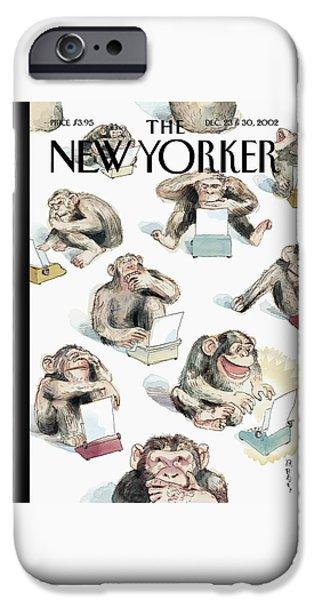 New Yorker December 23rd, 2002 IPhone 6s Case by Barry Blitt