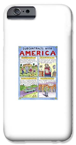Newts iPhone 6s Case - New Yorker January 16th, 1995 by Roz Chast