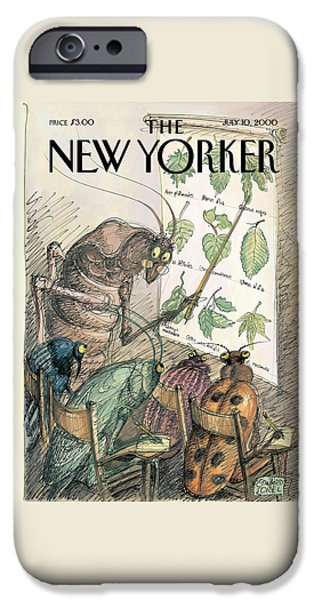 Cricket iPhone 6s Case - New Yorker July 10th, 2000 by Edward Sorel