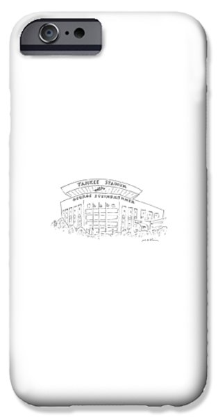 Yankee Stadium iPhone 6s Case - New Yorker June 15th, 1987 by Michael Maslin