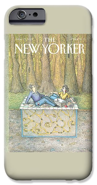 Ant iPhone 6s Case - New Yorker June 15th, 1992 by John O'Brien