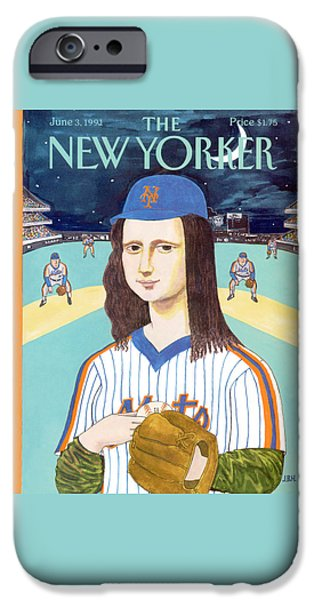 New York Mets iPhone 6s Case - New Yorker June 3rd, 1991 by J.B. Handelsman