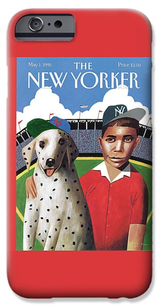 New York Mets iPhone 6s Case - New Yorker May 1st, 1995 by Mark Ulriksen