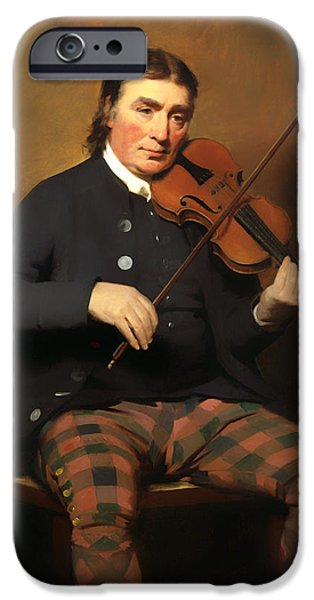 Violin iPhone 6s Case - Niel Gow - Violinist And Composer by Mountain Dreams