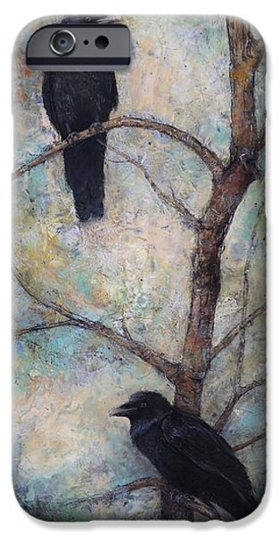 Crow iPhone 6s Case - Night Watch -  Ravens by Lori  McNee