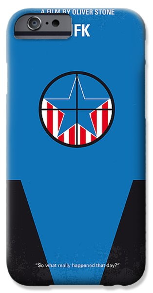 Dallas iPhone 6s Case - No111 My Jfk Movie Poster by Chungkong Art