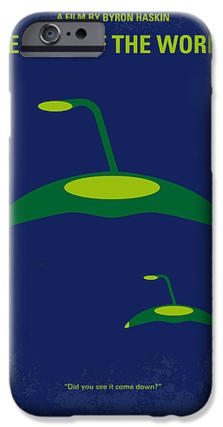 Aliens iPhone 6s Case - No118 My War Of The Worlds Minimal Movie Poster by Chungkong Art
