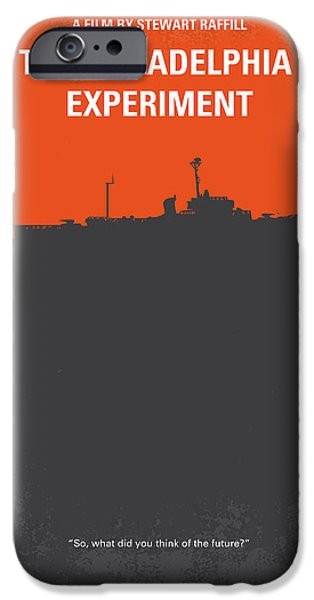 Philadelphia iPhone 6s Case - No126 My The Philadelphia Experiment Minimal Movie Poster by Chungkong Art