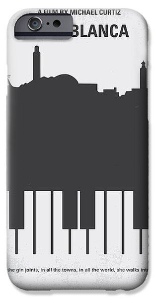 No192 My Casablanca Minimal Movie Poster IPhone 6s Case