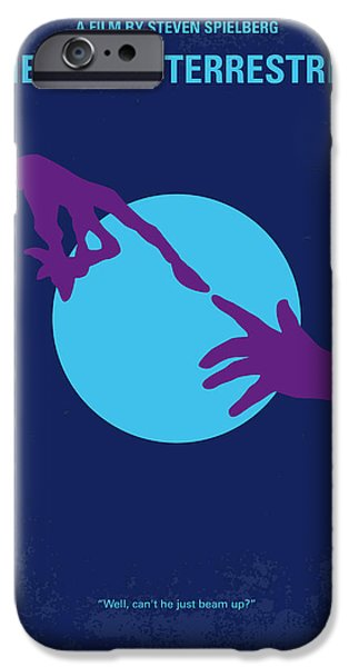 Aliens iPhone 6s Case - No282 My Et Minimal Movie Poster by Chungkong Art