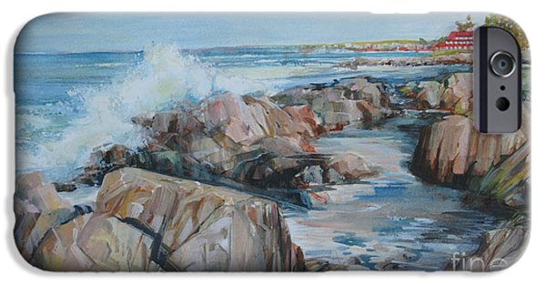 New England Coast iPhone 6s Case - North Shore Surf by P Anthony Visco