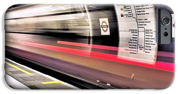 Northbound Underground IPhone 6s Case by Rona Black