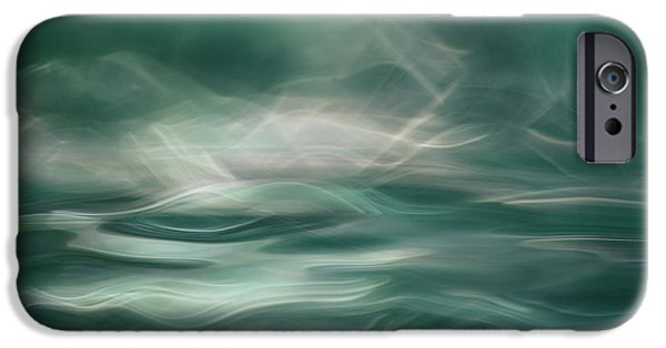 Teal iPhone 6s Case - Northern Winter Lights by Willy Marthinussen